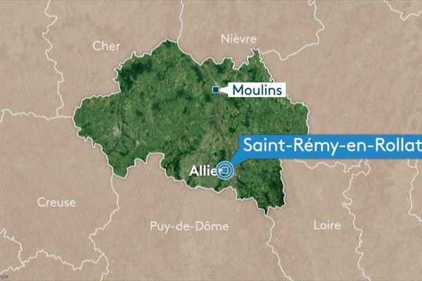 Jeudi 12 septembre, un homme a été blessé par balle à Saint-Rémy-en-Rollat, près de Vichy, dans l'Allier.