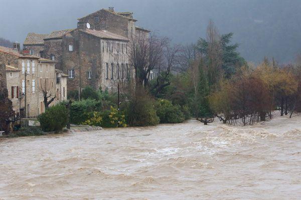 Bize-Minervois (Aude) - une quarantaine de maisons avaient été inondées en 2017