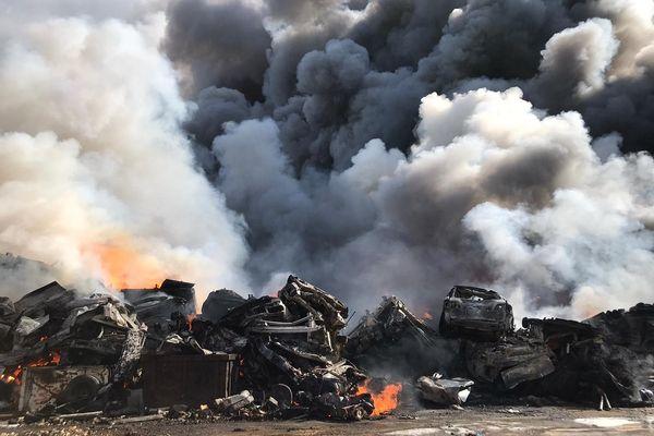 Des analyses de toxicité ont été réalisées après l'incendie d'Issoire (Puy-de-Dôme) le 6 avril.