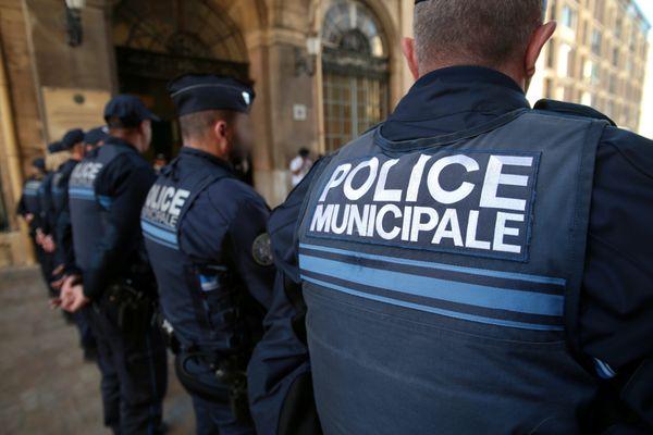 Policiers municipaux à Marseille