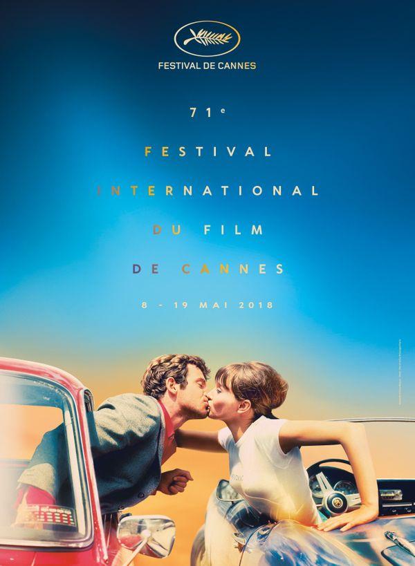 Georges Pierre est l'auteur du visuel de l'affiche du 71e Festival de Cannes, extrait de Pierrot le fou de Jean-Luc Godard (1965). La maquette est signée Flore Maquin.