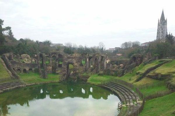 L'amphithéâtre de Saintes inondé depuis plusieurs jours