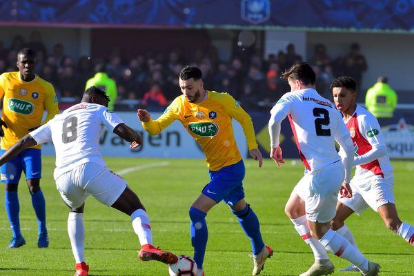 Victoire de l'ASM contre le Canet Roussillon 0 à 1 le 6 janvier 2018