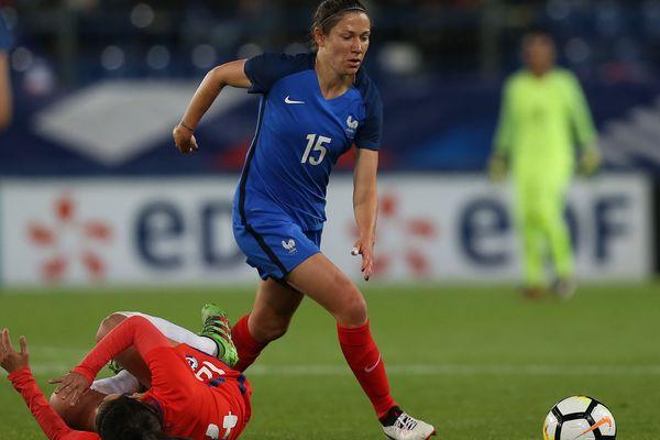 Elise Bussaglia compte 192 sélections en équipe de France