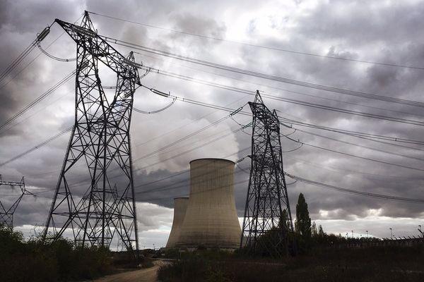 La centrale nucléaire de Civaux dans la Vienne