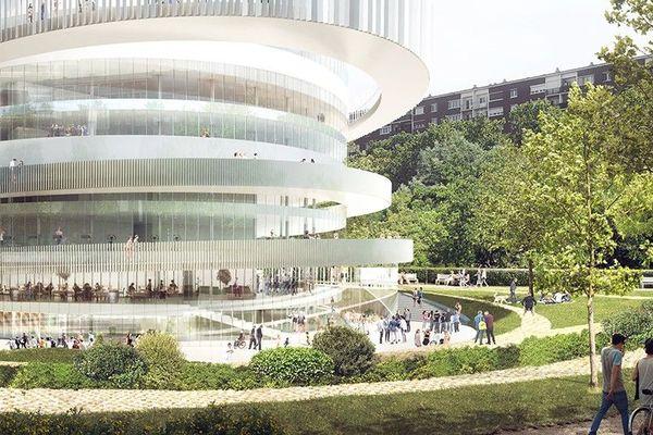 Ce bâtiment accueillera une cité du handicap Porte de Pantin