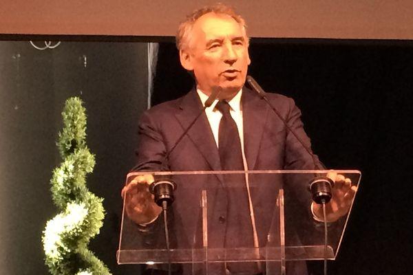 François Bayrou s'est adressé aux militants du MoDem à Cournon-d'Auvergne