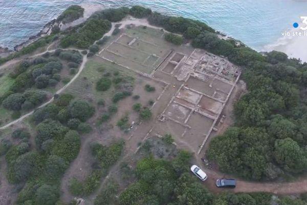 12/11/2018 - Nouvelle campagne de fouilles sur le site antique de Piantarella (Corse du Sud)