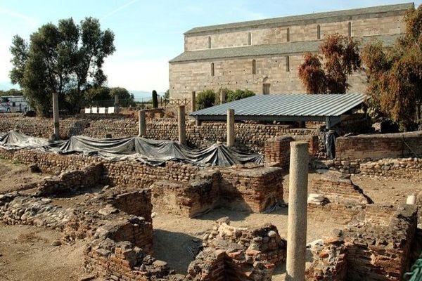 Mai 2011 - Le site archéologique de Mariana et sa cathédrale Santa-Marie-Assunta à Lucciana (Haute-Corse)