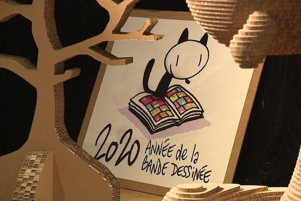 Au delà du FIBD, 2020 sera l'année de la bande dessinée en France.