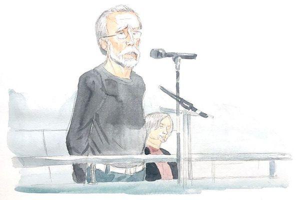 Michel Fourniret lors de son audition au procès de Versailles
