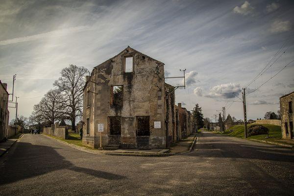 Le village martyr d'Oradour sur Glane