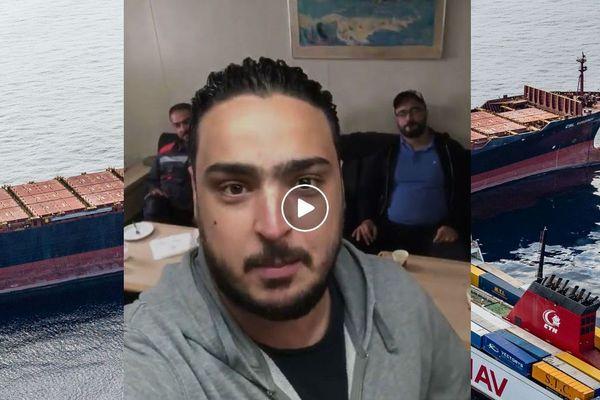 Sur Facebook, un membre de l'équipage du navire tunisien Ulysse qui est entré en collision avec le porte-containers chypriote Virginia le 7 octobre minimise les faits.