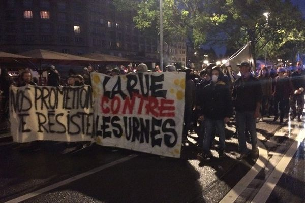 "Manifestation ""anti-fasciste et anti-capitaliste"" dimanche soir à Strasbourg"