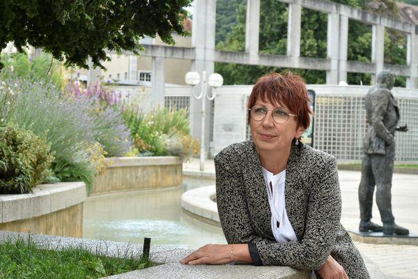 Anne Vignot, maire de Besançon.