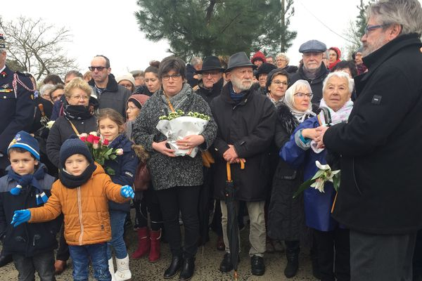 Tempête Xynthia, 10 après : les familles pendant la cérémonie d'hommage