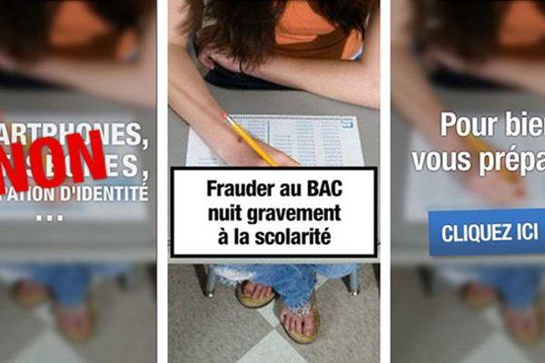 Une campagne de communication en ligne du ministère de l'éducation destinée aux candidats