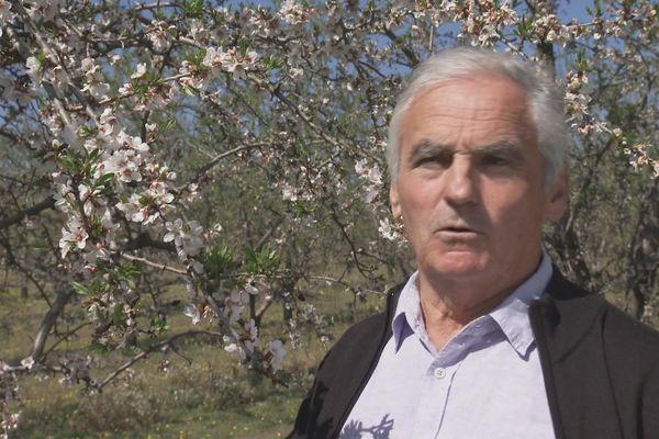 Jean-Pierre Jaubert, producteur à Valensole.
