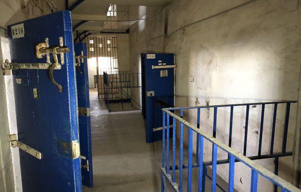 Les cellules de la prison Sainte-Claire à Bastia