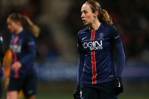 Sabrina Delannoy, capitaine du PSG.