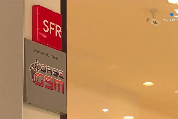 SFR a annoncé rompre ses contrats qui le lient à son unique revendeur sur l'île, Corse GSM.