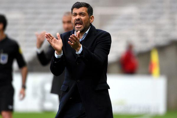 Sergio Conceicao a deux raisons de se réjouir : la victoire de son équipe et sa prolongation de contrat avec le FC Nantes