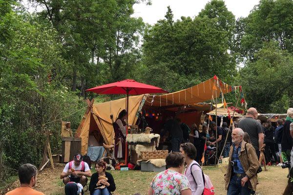 La 12e Foire des sorcières se tient les 8 et 9 juin à Mâlain (Côte-d'Or).