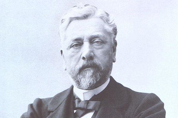 Gustave Eiffel est né à Dijon en 1832.