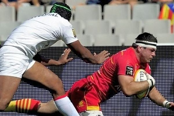 Guilhem Guirado, le talonneur international de l'USAP  - archives