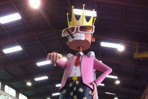 Monsieur Carnaval de Toulouse 2014