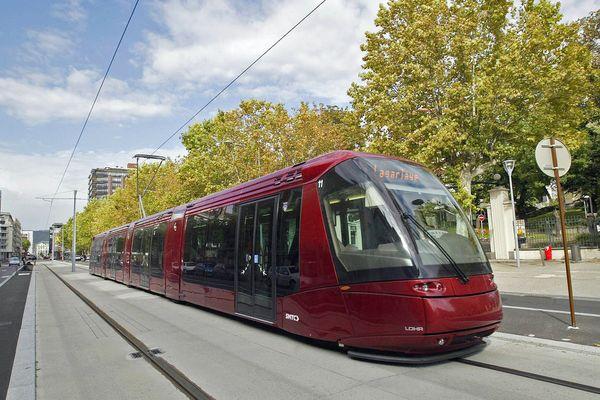 Du 3 juillet au 27 août le tramway A de Clermont-Ferrand sera interrompu pour travaux