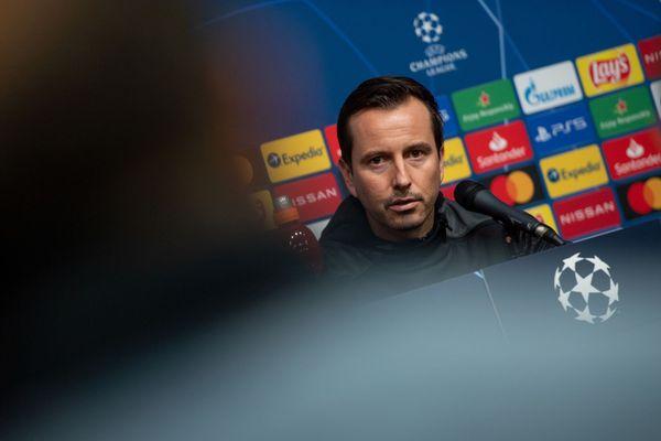 Julien Stéphan, l'entraîneur du stade Rennais, ne veut que l'on noircisse le tableau alors que les résultats sont en demi-teinte ces derniers matchs