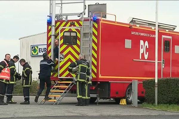 D'importants moyens de secours ont été mobilisés ce vendredi après-midi à Pont-L'Evêque