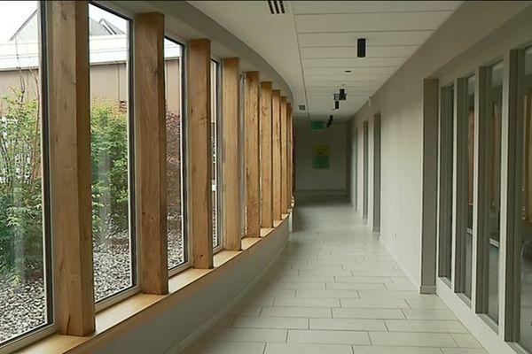 Cette maison de santé dispose d'une surface de 700 m2.
