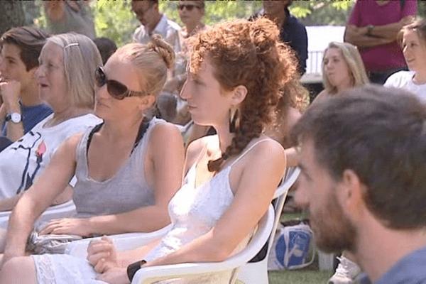 Pendant le festival de théâtre, le nombre d'habitants d'Olmi Capella augmente fortement.