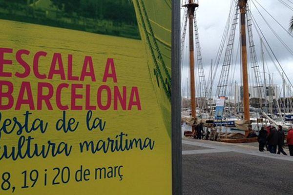 Les grands voiliers accostent du 18 au 20 mars à Barcelone pour la fête de la culture maritime Escale à Barcelone