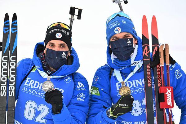 Les deux Français vainqueurs du jour au sprint des Mondiaux 2021.