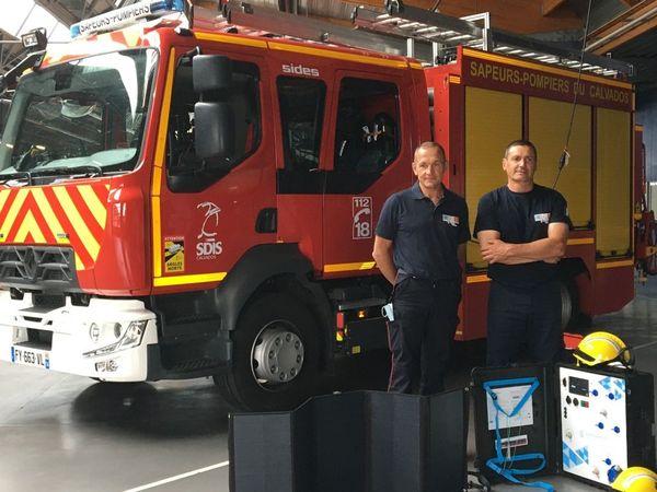 Les deux sapeurs-pompiers d'Ifs ont déjà participer à de nombreuses missions humanitaires.