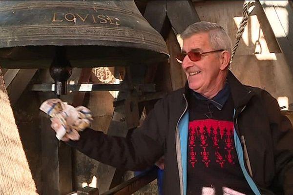 Jean-Pierre Carme, carillonneur depuis plus de 40 ans.