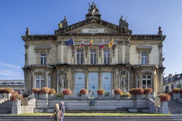 Les Anciens thermes de Spa, en Belgique.