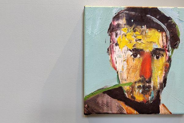 """""""Le tableau, c'est soi mais c'est aussi l'autre"""", Emmanuel Bornstein."""