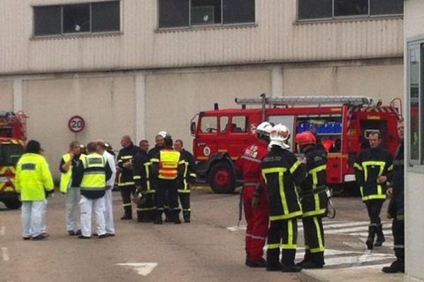 Explosion de gaz SGD Mers-les-Bains, les pompiers sur place ce matin