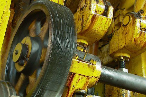 Cette machine de 101 ans est toujours en état de marche mais n'est plus rentable