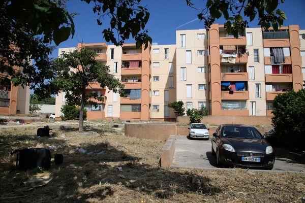 Cité Bassens, XIVe arrondissement de Marseille.