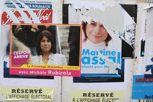 Municipales à Marseille, la campagne fait rage entre la candidate de gauche Michèle Rubirola et celle des Républicains, Martine Vassal.jpg