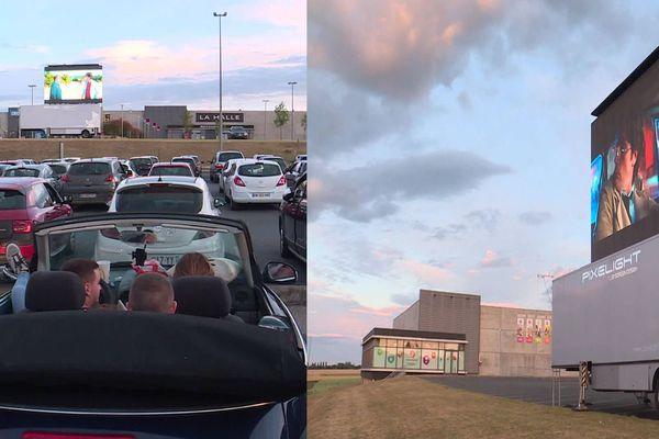 Déconfinement : à Caudry, des séances de cinéma en drive-in ont été organisées ce week-end.