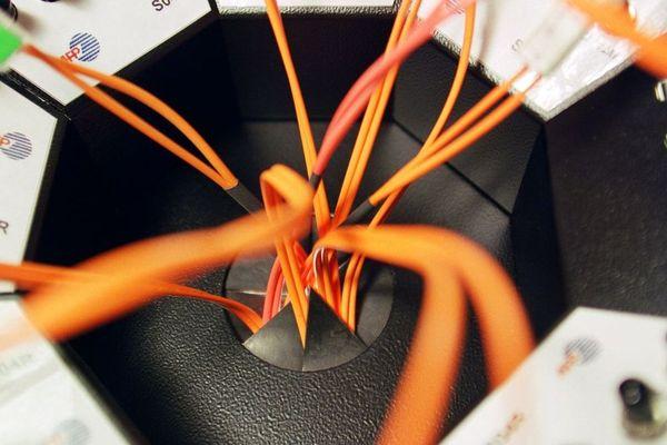 Illustration raccordement fibre optique
