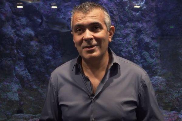 Le professeur Antoine Aiello, directeur de la plateforme Stella Mare, a reçu la médaille de l'innovation du CNRS 2021.