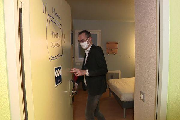95 personnes sont logées dans cet hôtel de Marcq-en-Baroeul