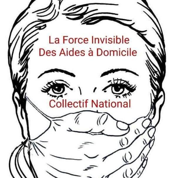 """Le collectif """"la force invisible des aides à domicile"""", très présent sur les réseaux sociaux, est né au moment du déconfinement."""